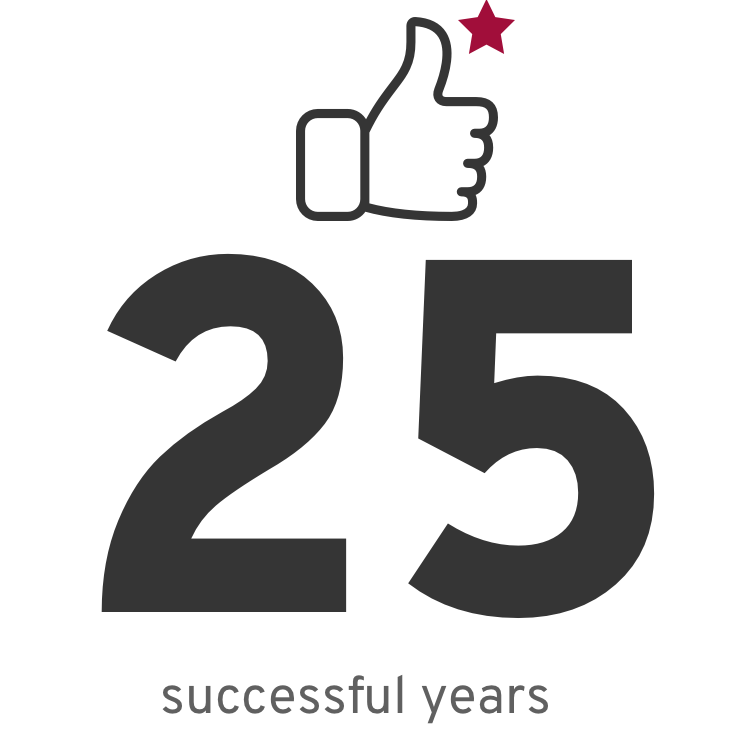 25 succesful years