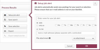 index Advertsdata job alert